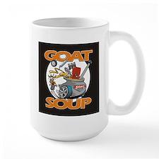Black Goat Soup Logo 2 Mugs
