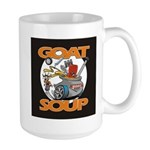 Black Goat Soup Logo 2 Mugs