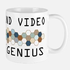 Audio and Video Genius Mug
