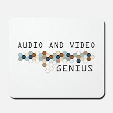 Audio and Video Genius Mousepad