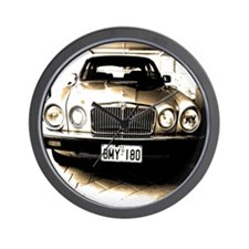 Jaguar XJ6 Wall Clock