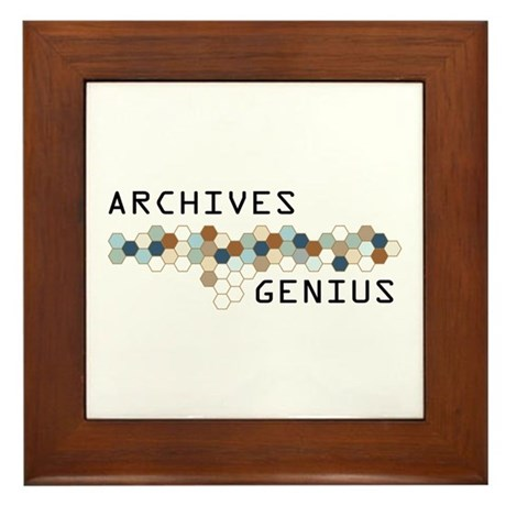 Archives Genius Framed Tile