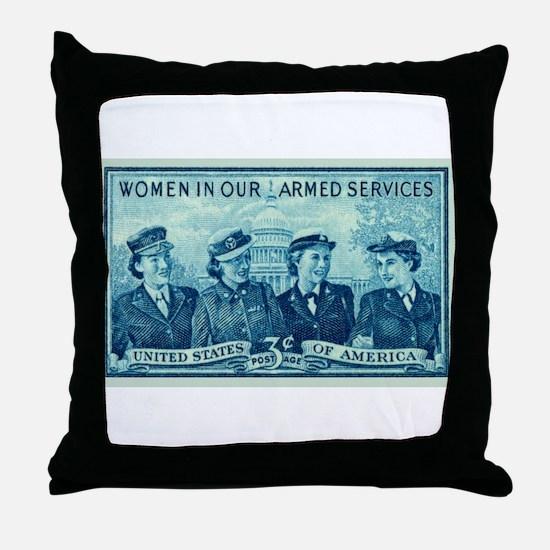 Cool Womens Throw Pillow
