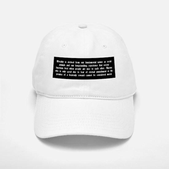 Morality Baseball Baseball Cap