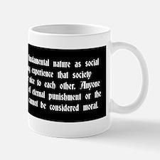 Morality Mug