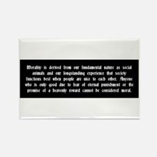 Morality Rectangle Magnet (10 pack)