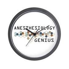 Anesthesiology Genius Wall Clock