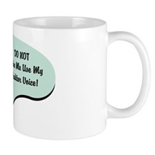 Auditor Voice Small Small Mug