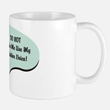 Auditor Voice Small Small Mug