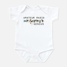 Amateur Radio Genius Infant Bodysuit