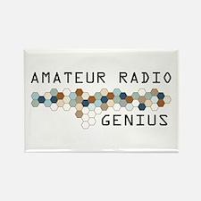 Amateur Radio Genius Rectangle Magnet