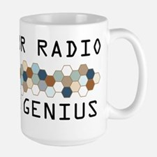 Amateur Radio Genius Large Mug