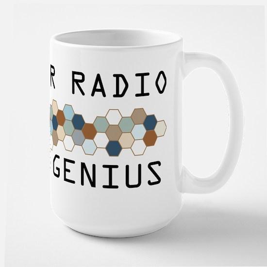 Amateur Radio Genius Large Mug