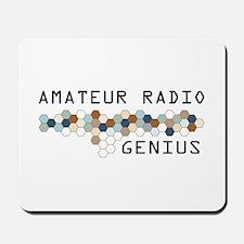 Amateur Radio Genius Mousepad