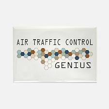 Air Traffic Control Genius Rectangle Magnet