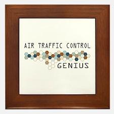 Air Traffic Control Genius Framed Tile
