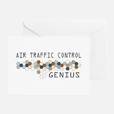 Air Traffic Control Genius Greeting Card