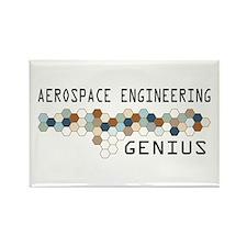 Aerospace Engineering Genius Rectangle Magnet