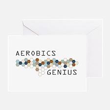 Aerobics Genius Greeting Card