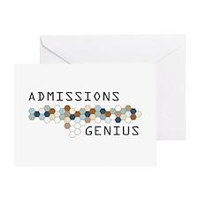 Admissions Genius Greeting Card