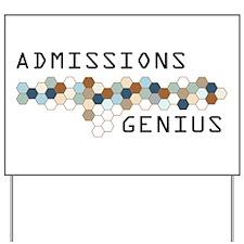 Admissions Genius Yard Sign