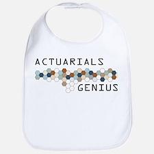 Actuarials Genius Bib