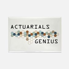 Actuarials Genius Rectangle Magnet