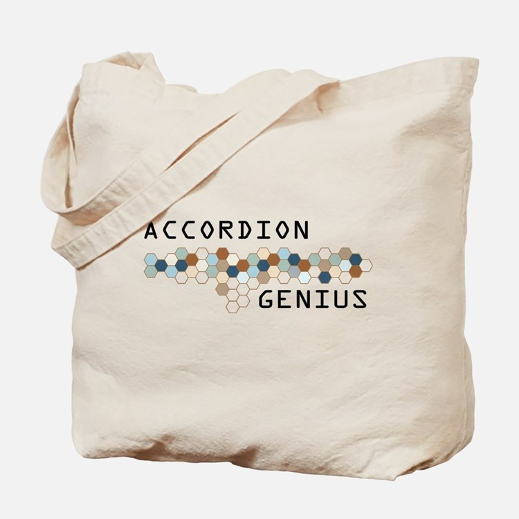 Accordion Genius Tote Bag