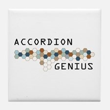 Accordion Genius Tile Coaster
