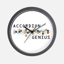 Accordion Genius Wall Clock