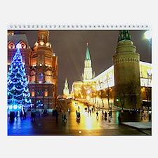 Moscow Wall Calendar
