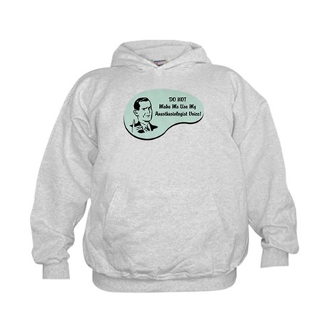 Anesthesiologist Voice Kids Hoodie