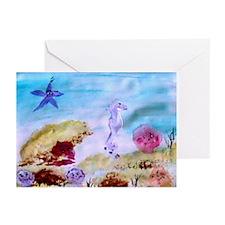 """Marine Life Fantasy"" Greeting Cards (Pk of 10"