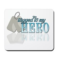 Tagged to my Hero Mousepad