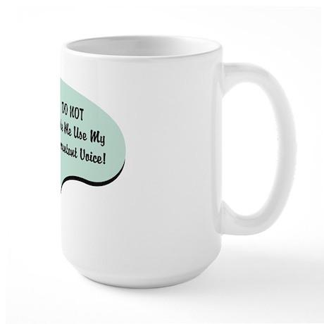 Accountant Voice Large Mug