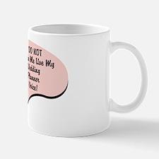 Wedding Planner Voice Mug