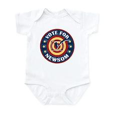 Vote for Gavin Newsom Infant Bodysuit