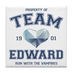 Twilight Team Edward Tile Coaster