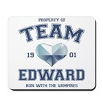 Twilight Team Edward Mousepad