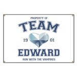 Twilight Team Edward Banner