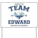 Twilight Team Edward Yard Sign