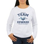 Twilight Team Edward Women's Long Sleeve T-Shirt