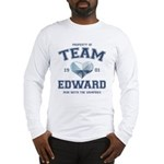 Twilight Team Edward Long Sleeve T-Shirt