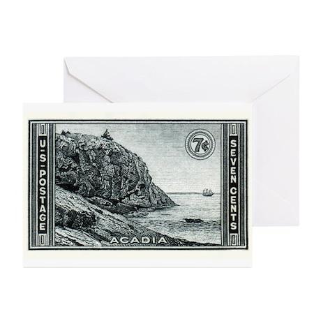 stamp37 Greeting Cards