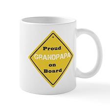Proud Grandpapa on Board Mug