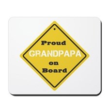 Proud Grandpapa on Board Mousepad