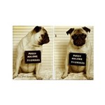 Pugsy Malone Rectangle Magnet