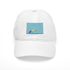 Rainbow Umbrella Baseball Cap