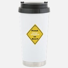 Proud Great Grandma on Board Travel Mug