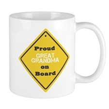 Proud Great Grandma on Board Mug